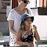 Michelle Williams and Matilda Establish a Sweet Afternoon Routine