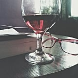 """""""Wine is sometimes the best way to end a night."""" — Brandy R.    Source: Instagram user jovv6"""