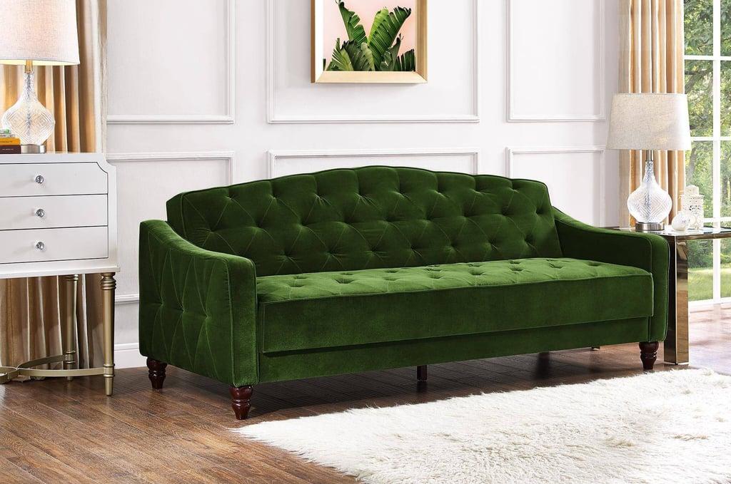 Vintage Tufted Sofa Sleeper II