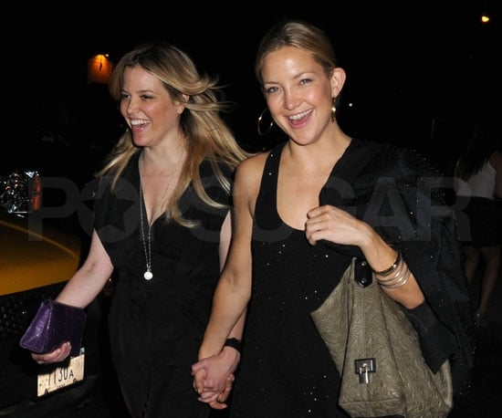 Picture Slide of Kate Hudson Partying in NYC