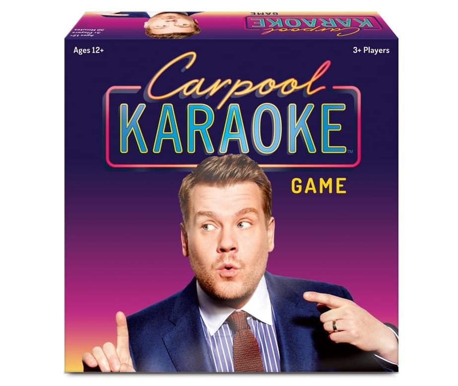 If You're Obsessed With James Corden's Carpool Karaoke, Target's New Board Game Is For You