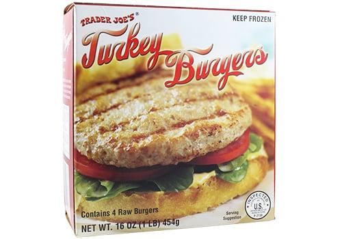 Frozen Individual Turkey Burgers