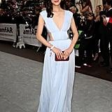 Liu Wen at the amfAR Cinema Against AIDS Gala