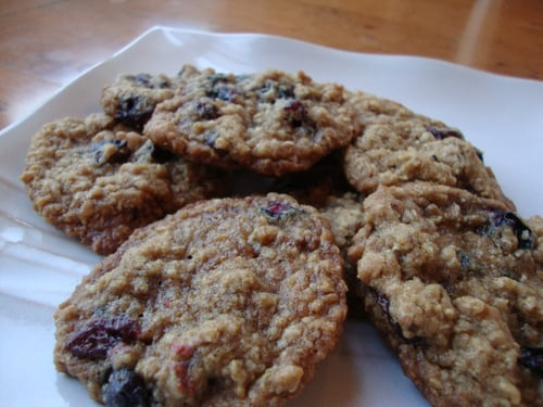 Chai-Spiced Berry-Oatmeal Cookies = Redemption