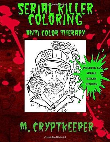 Serial Killer Coloring Book ($6)