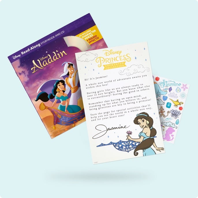 The Box Also Comes With a Letter From Jasmine — How Sweet!