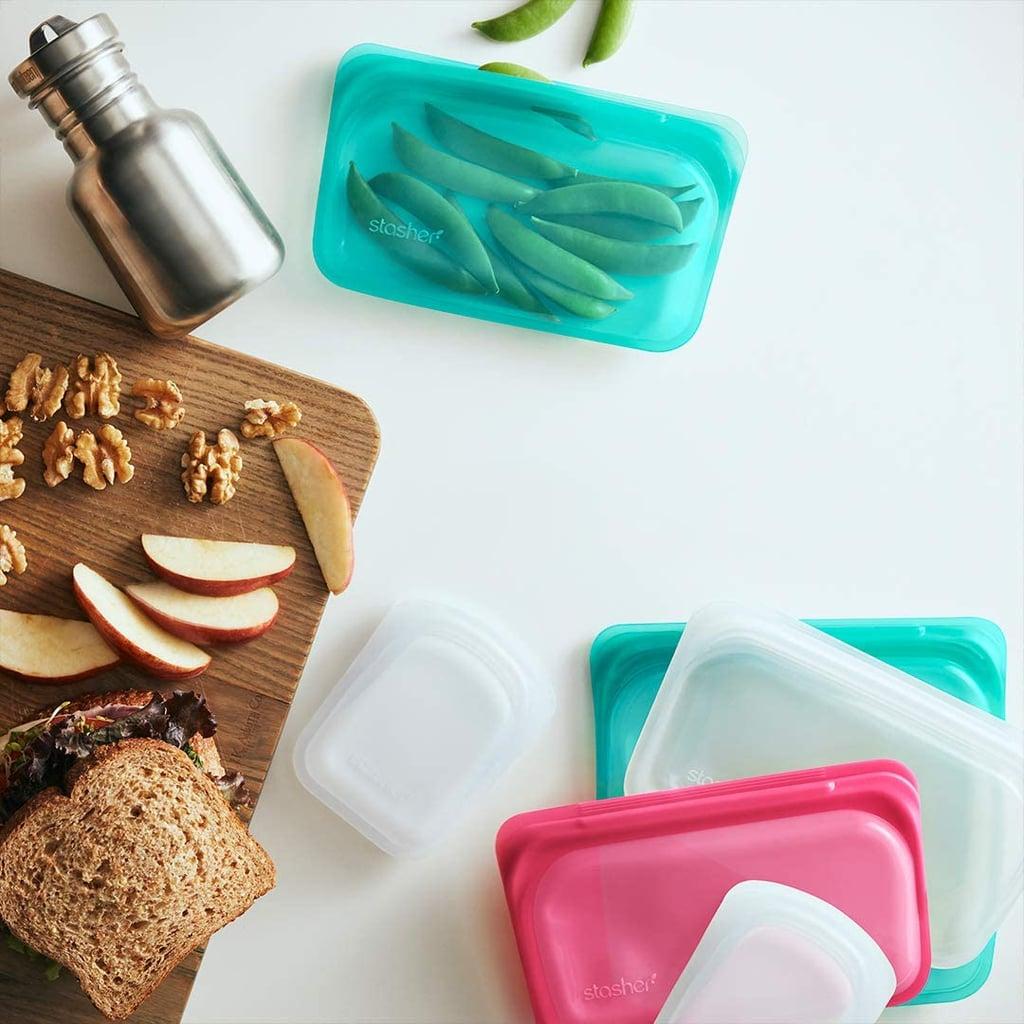 Best Reusable Snack Bag: Stasher Reusable Silicone Food Bag