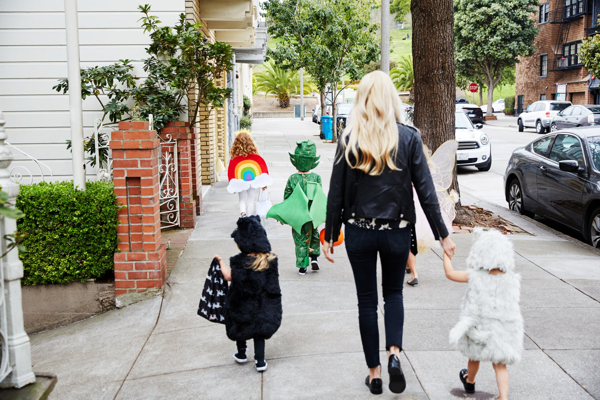A Dollar-Store Solution For Keeping My Kids Safe on Halloween Night