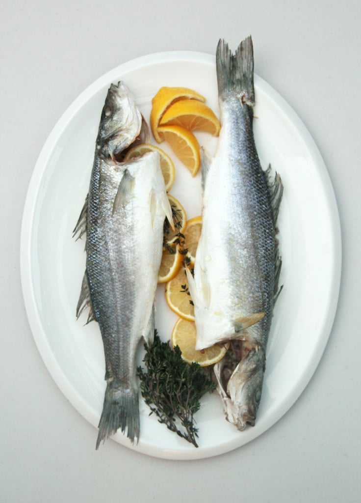Roasted Branzino With Lemon and Herbs