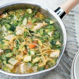 Healthy, Chunky Chicken and Vegetable Broth Recipe