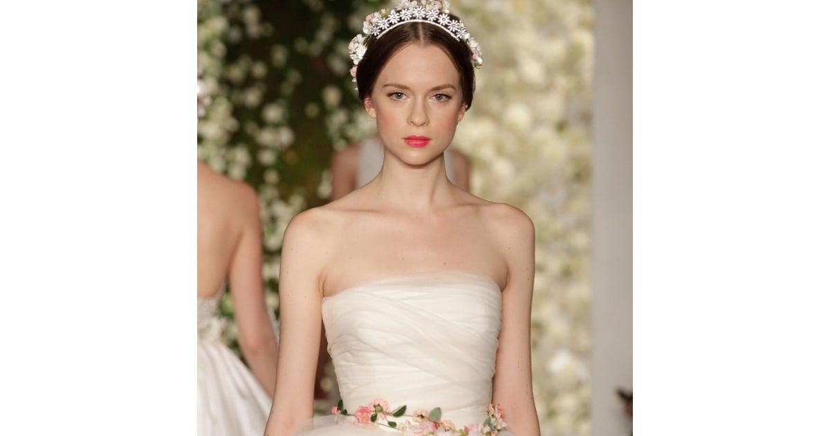 6 Unexpected Wedding Dress Trends 2015 Video Popsugar Fashion