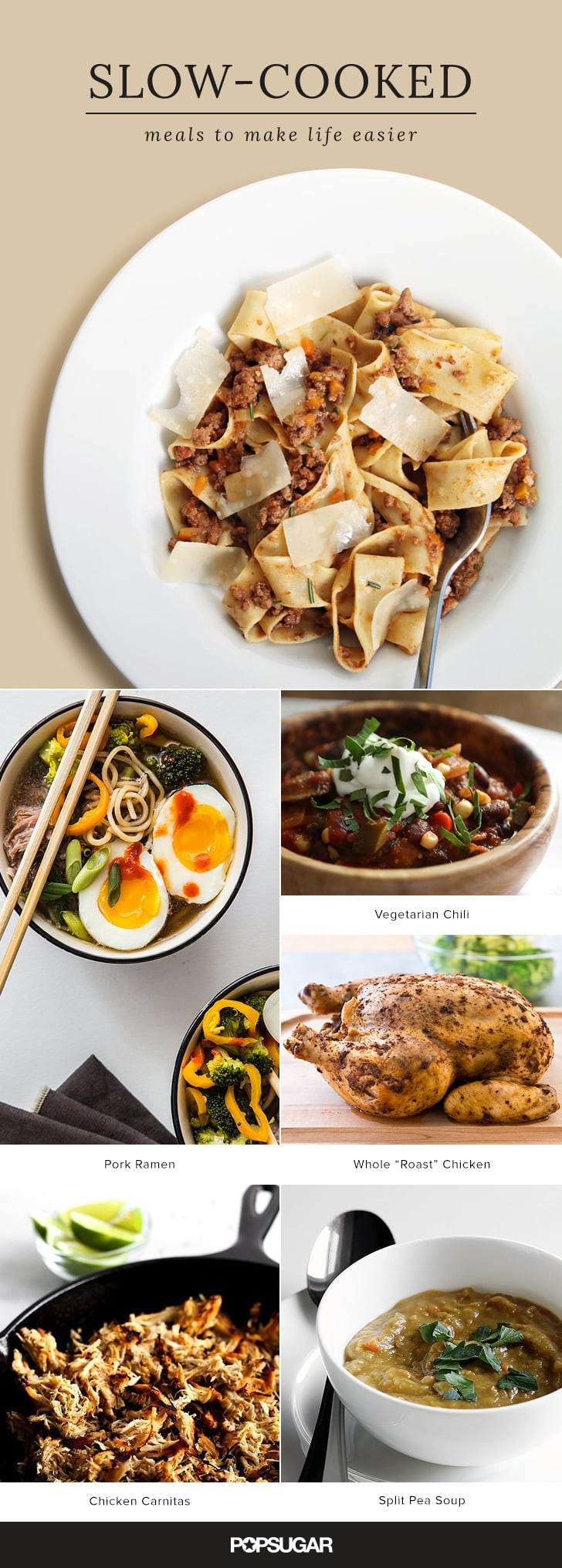 20 Slow-Cooked Meals to Make Life Easier