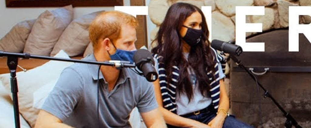 Meghan Markle Wears Ruth Bader Ginsburg Shirt and Face Mask
