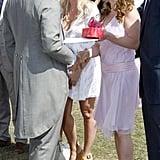 الأمير تشارلز، وإيما بونتون، وجيري هاليويل
