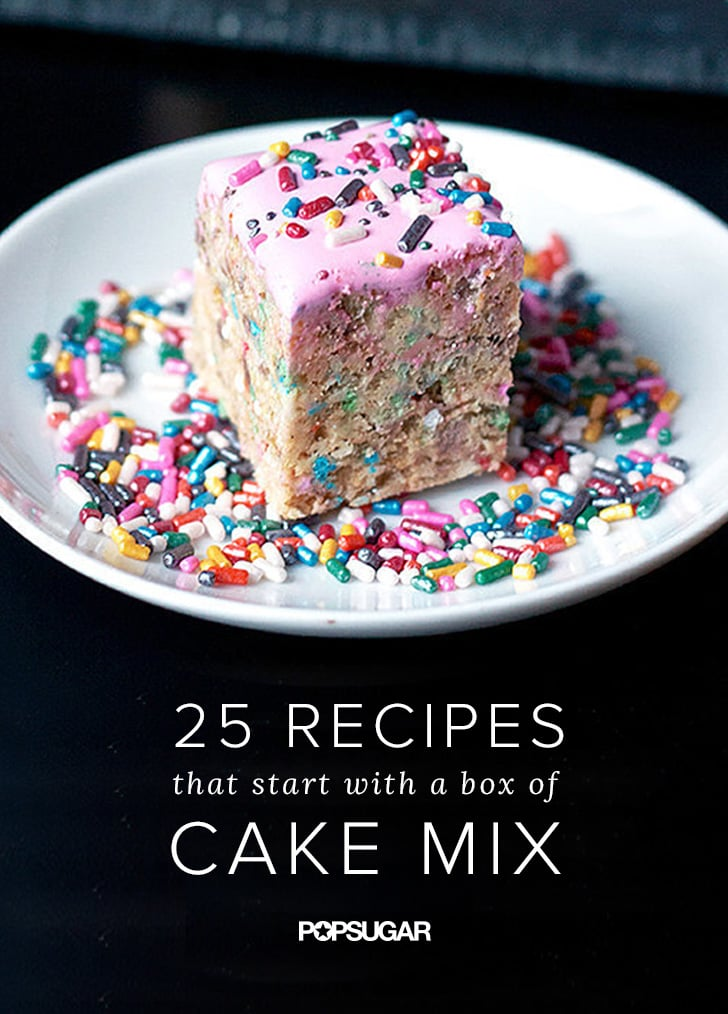 Recipes That Start With a Box of Cake Mix