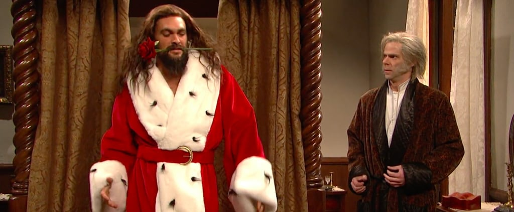 Jason Momoa A Christmas Carol Skit Saturday Night Live 2018