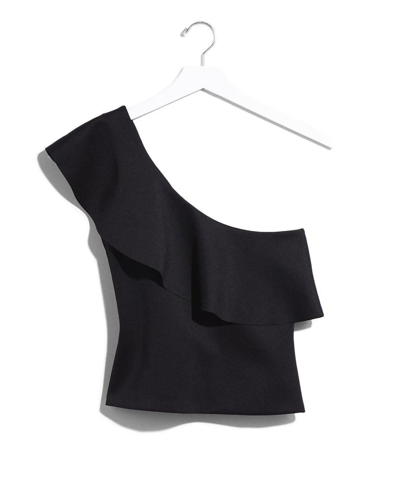 Karlie Kloss x Express Ruffle One Shoulder Top ($50)