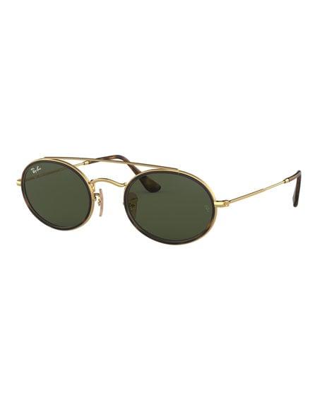 Ray-Ban Oval Metal Sunglasses