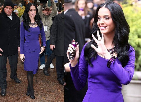 Katy Perry Promoting Perfume in New York