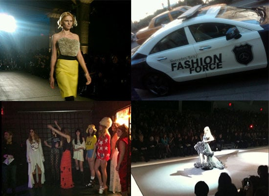 See All The TwitPic Action From Fall New York Fashion Week: DKNY, Christian Siriano and Michael Kors