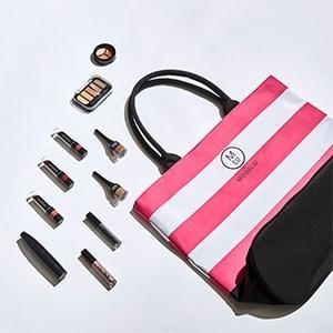 ModelCo Showbag ($26) Includes:  Tote Bag  ModelCo Mega Lash Mascara  ModelCo Nudes Eye Shadow Palette