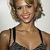 Jessica Alba's Curly Bob Haircut in 2005