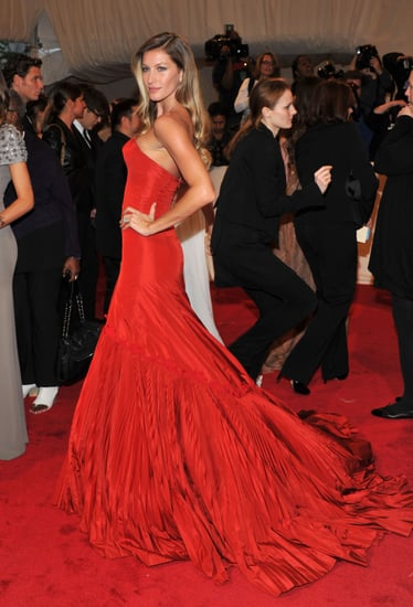 Pictures of Models at the 2011 Met Costume Institute Gala