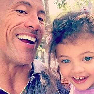 The Rock Talking to Daughter Jasmine February 2019