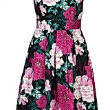 Jolie Moi Floral Printed '50s Prom Dress