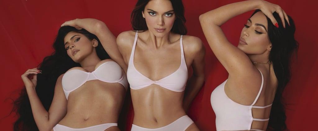 Kardashian-Jenner Sisters Model Skims Valentine's Day Line