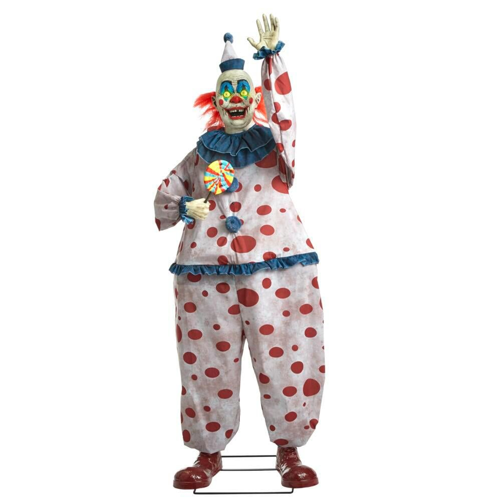 Home Depot 6-Foot Life-Sized Animated Old Time Clown