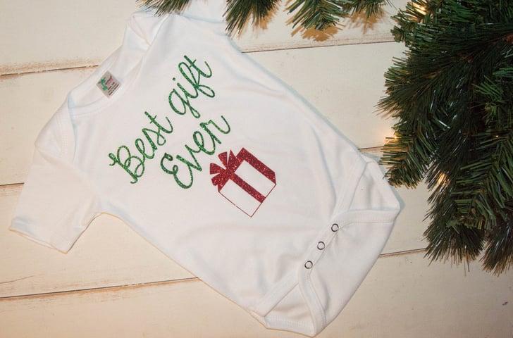 Best Gift Ever Christmas Onesie