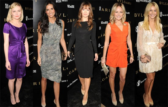 Pictures of Demi Moore, Olivia Wilde, Kirsten Dunst, Julianne Hough at Save the Children Party