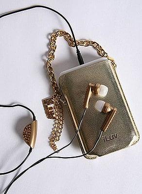 iPod Holster Is a Little Glam, a Little Garish