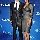 Halle Berry and her husband, Olivier Martinez, stunned at her Extant premiere in LA on Monday.