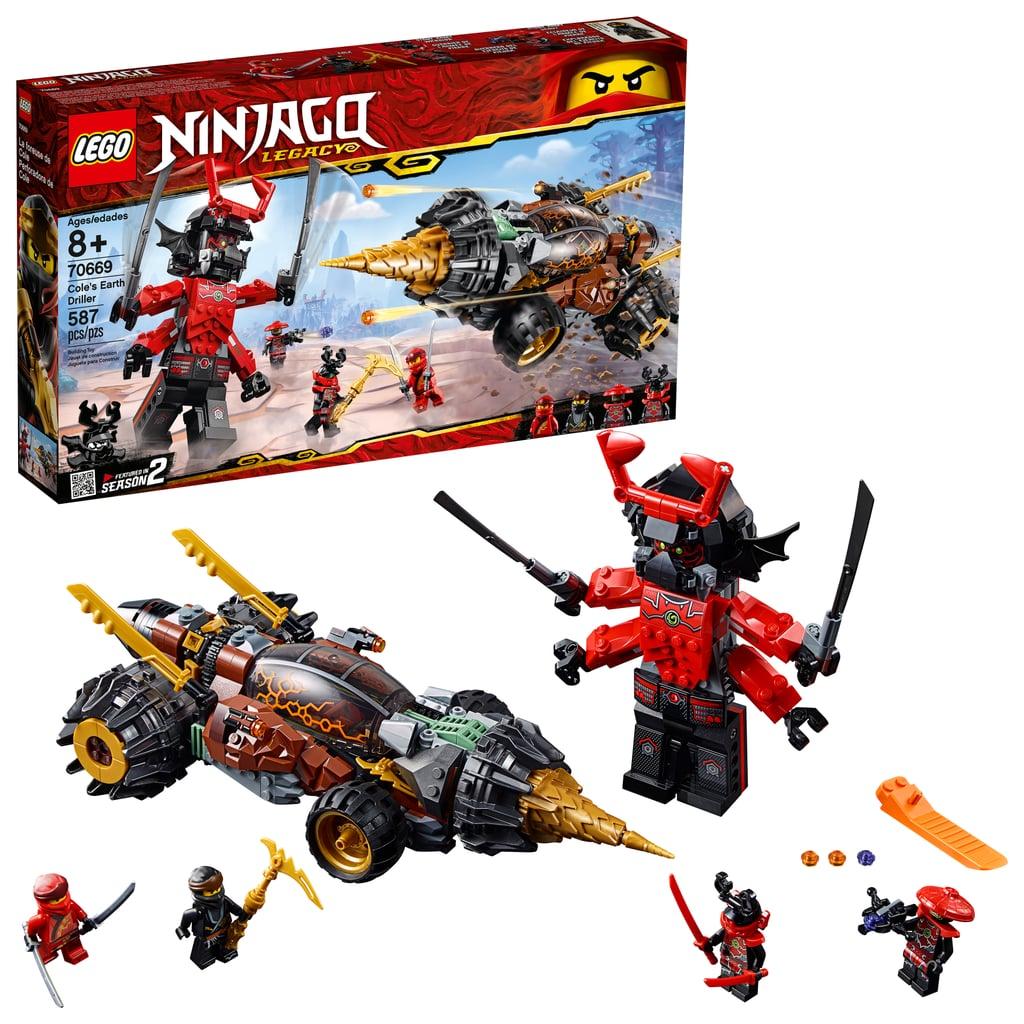 Lego Ninjago Cole's Earth Driller