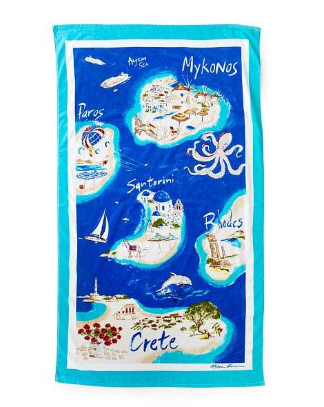Ralph Lauren Greek Isles Beach Towel The Best Beach Towels