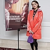 Joey King's Paul & Joe Coat