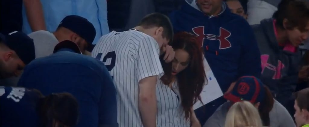 YIKES! This Guy Had a Major Fail While Proposing to His Girlfriend at a Yankees Game