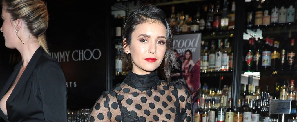 Nina Dobrev Stuns at a Stylish Event After the Vampire Diaries Finale
