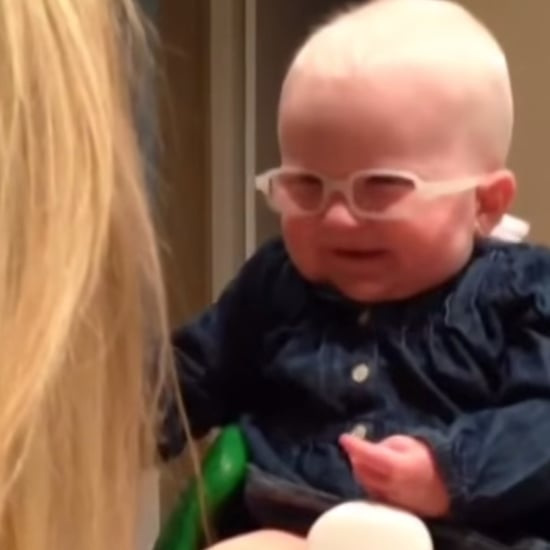Baby Seeing Mom For First Time