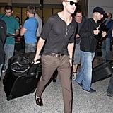 Ryan Gosling at the Toronto Airport.