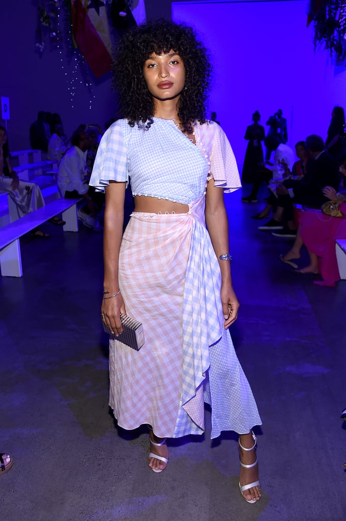 Indya Moore at the Prabal Gurung New York Fashion Week Show