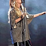 Carrie Underwood's Toddler Comments on New Baby Sibling