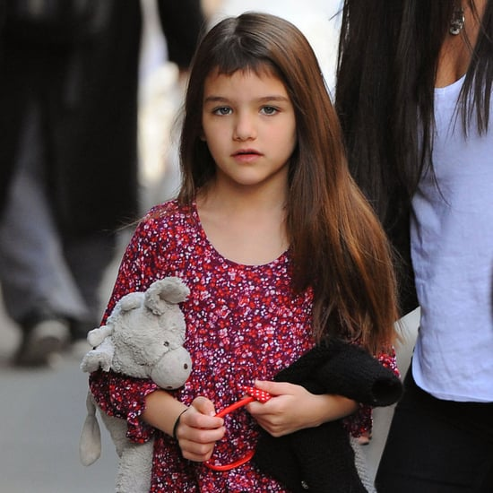Suri Cruise With Short Bangs