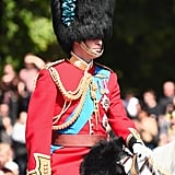 Prince William at the Colonel's Review in London June 2017