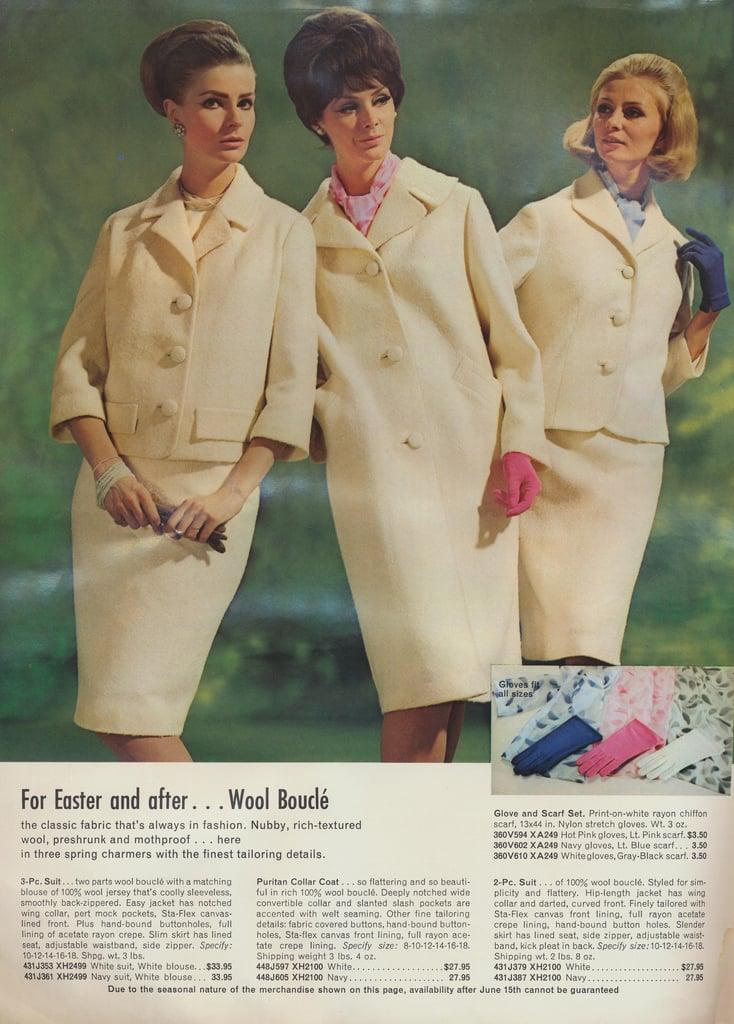 Get gossipy this weekend in wool bouclé.