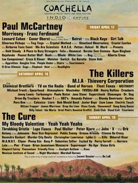 Coachella 2009: A Playlist