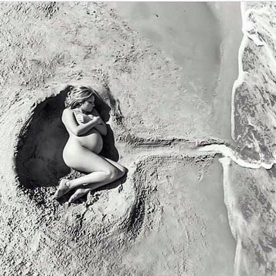 Ocean Maternity Photo