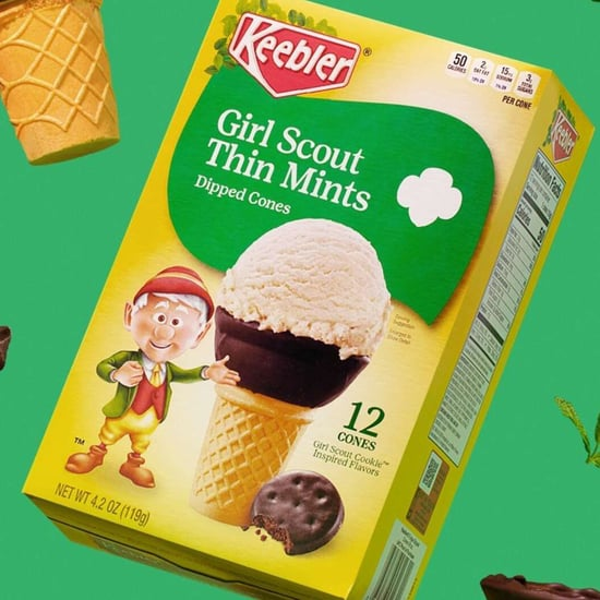 Girl Scout Thin Mint Dipped Cones Are Here For Summer!